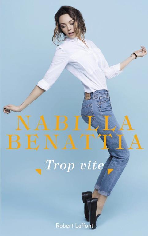 Couverture de l'autobiographie de Nabilla