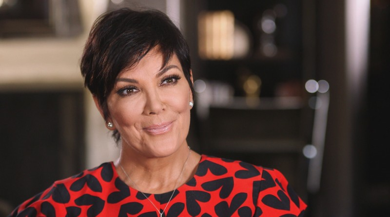 Kris Jenner et Kanye West à Paris lors du défilé Christian Dior