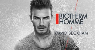David Beckham collabore avec Biotherm