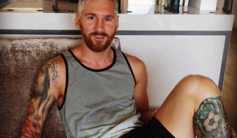 Lionel Messi : Un nouveau style capillaire !
