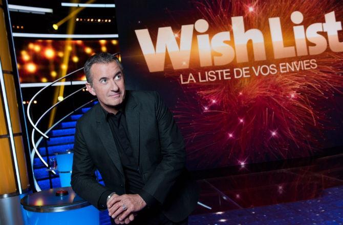 """Christophe Dechavanne : TF1 dépogramme le jeu """"Wish List"""""""