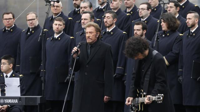 L'hommage de Johnny aurait coûté 30 000 euros
