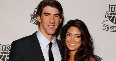 Michael Phelps futur papa d'un petit garçon