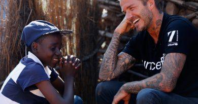 David Beckham : Ambassadeur de l'Unicef